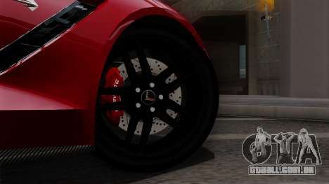 Chevrolet Corvette C7 Stingray 1.0.1 para GTA San Andreas vista direita
