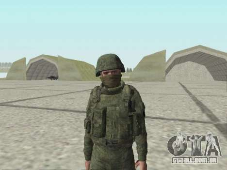 Pak combatentes das tropas especiais de GRU para GTA San Andreas décimo tela