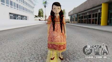 Cereza Bayonetta (child) para GTA San Andreas segunda tela