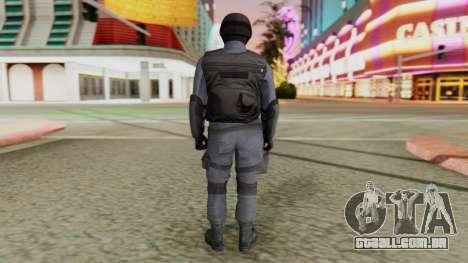 [GTA 5] SWAT para GTA San Andreas terceira tela