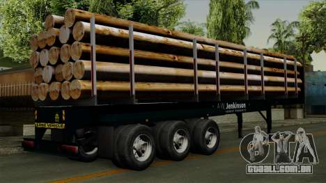 Trailer Log v2 para GTA San Andreas esquerda vista