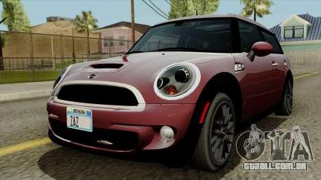 Mini Cooper Batik PaintJob para GTA San Andreas