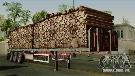 Trailer Cargos ETS2 New v2 para GTA San Andreas