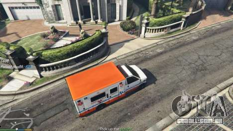 GTA 5 Missão ambulância v. 1.3 segundo screenshot