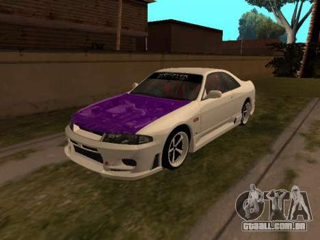 Nissan Skyline R33 Drift Monster Energy JDM para GTA San Andreas