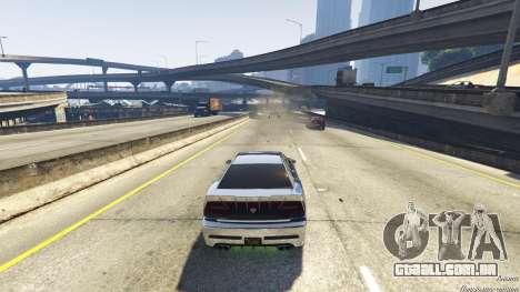 GTA 5 A morte armadilha na estrada sexta imagem de tela