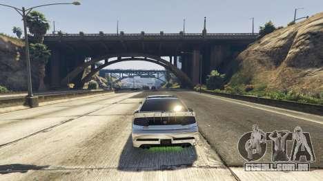 GTA 5 A morte armadilha na estrada segundo screenshot
