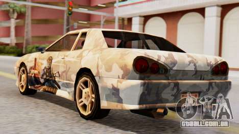 Elegy Contract Wars Vinyl para GTA San Andreas esquerda vista