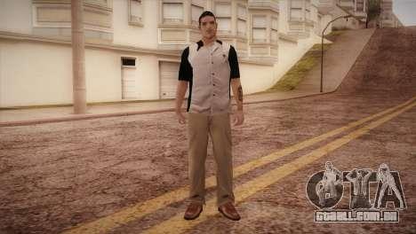 Bowling Player para GTA San Andreas segunda tela