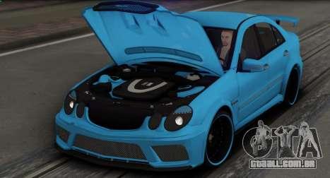Mercedes-Benz E63 Qart Tuning para as rodas de GTA San Andreas
