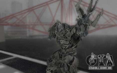 Megatron TF3 para GTA San Andreas