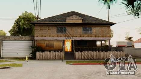 New Interior for CJs House para GTA San Andreas terceira tela