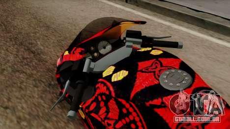 Bati Batik para GTA San Andreas vista traseira