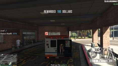 GTA 5 Missão ambulância v. 1.3 quinta imagem de tela