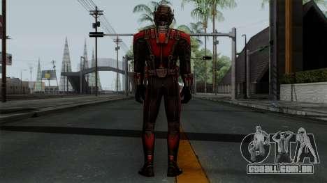 Ant-Man para GTA San Andreas terceira tela