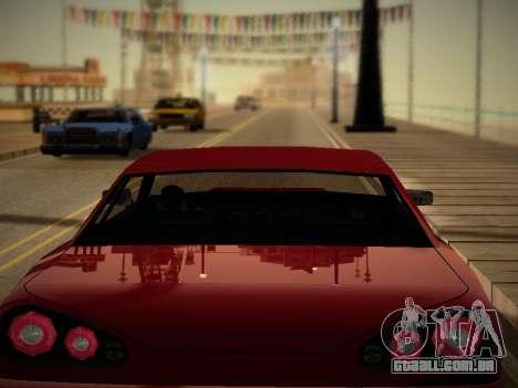Iceh ENB para GTA San Andreas por diante tela