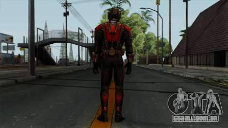 Ant-Man Red para GTA San Andreas terceira tela