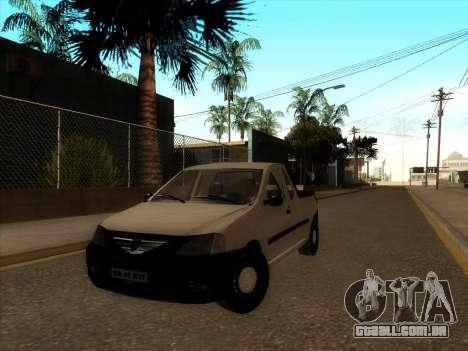 Dacia Logan Pick-up Necarosat para GTA San Andreas