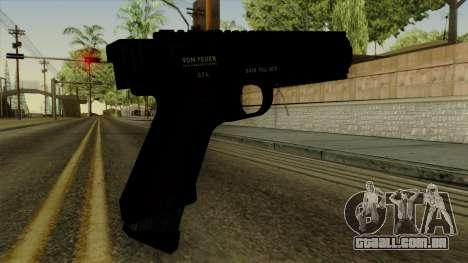 AP Pistol para GTA San Andreas segunda tela
