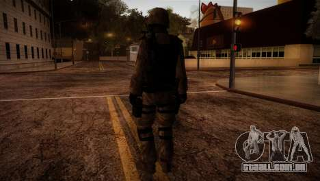 U.S.A. Ranger para GTA San Andreas terceira tela