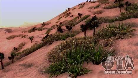 Real textura da vegetação para GTA San Andreas
