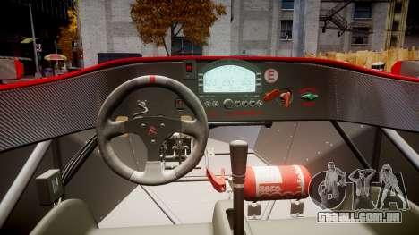 Radical SR8 RX 2011 [16] para GTA 4 vista de volta