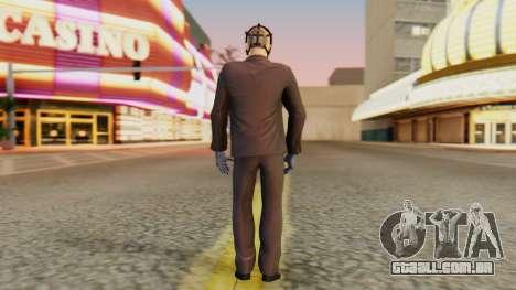 [PayDay2] Wolf para GTA San Andreas terceira tela