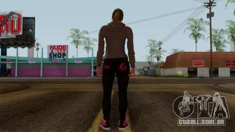 GTA 5 Online Female02 para GTA San Andreas terceira tela