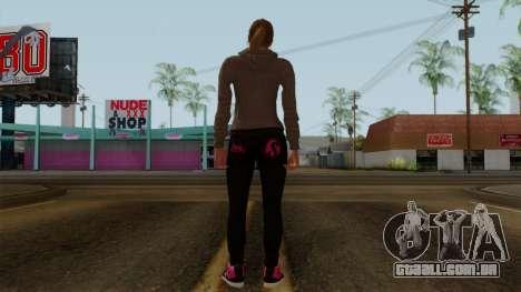 GTA 5 Online Female02 para GTA San Andreas terceira tela