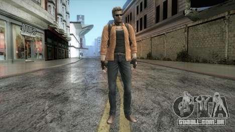New Jhon Albert Wesker from Resident Evil para GTA San Andreas segunda tela