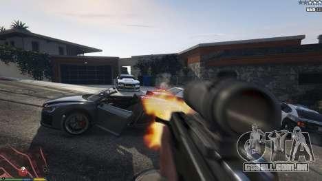 Carabina De Bulldog para GTA 5