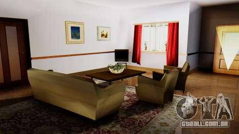 New Interior for CJs House para GTA San Andreas por diante tela