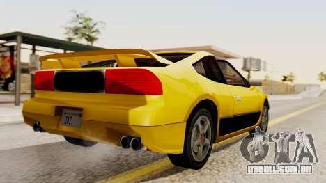 Sportcar2 SA Style para GTA San Andreas esquerda vista