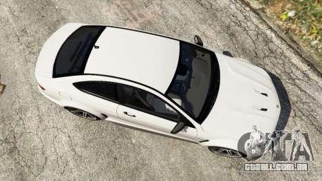 GTA 5 Mercedes-Benz C63 AMG 2012 voltar vista