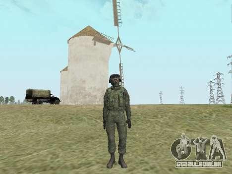 Pak combatentes das tropas especiais de GRU para GTA San Andreas sexta tela