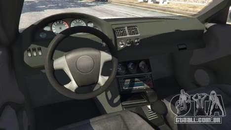 GTA 5 BMW M3 GTR E46 Most Wanted v1.3 vista lateral direita