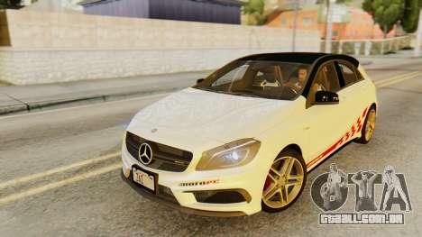 Mercedes-Benz A45 AMG 2012 PJ para as rodas de GTA San Andreas
