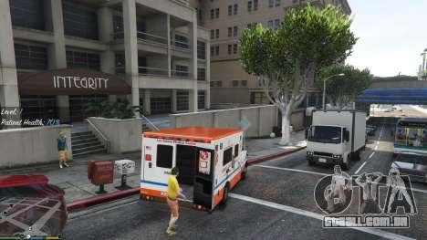 GTA 5 Missão ambulância v. 1.3 quarto screenshot