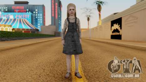 [SH2] Laura Child para GTA San Andreas segunda tela