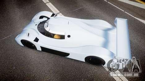 Toyota GT-One TS020 blank spoiler para GTA 4 vista direita