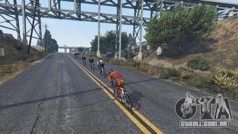 GTA 5 Downhill Racing quarto screenshot