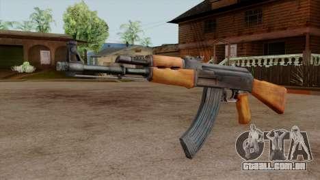 Original HD AK-47 para GTA San Andreas segunda tela