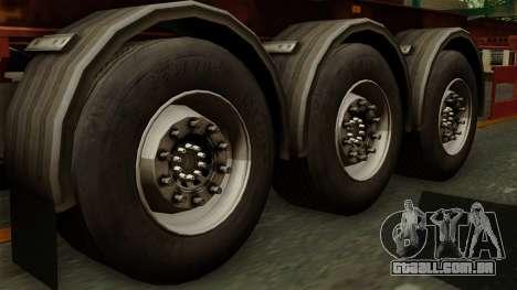 Trailer Cargos ETS2 New v1 para GTA San Andreas traseira esquerda vista