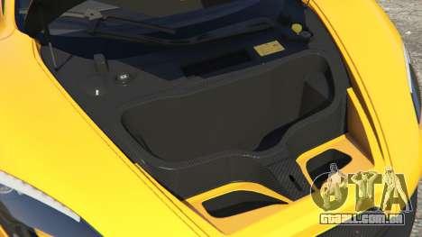 GTA 5 McLaren P1 2014 vista lateral direita