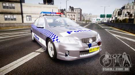 Holden VE Commodore SS Highway Patrol [ELS] para GTA 4