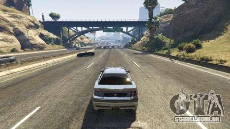 GTA 5 A morte armadilha na estrada terceiro screenshot