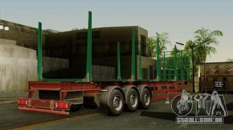 Trailer Cargos ETS2 New v1 para GTA San Andreas esquerda vista