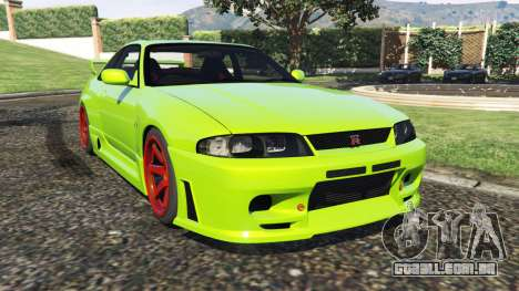 Nissan Skyline BCNR33 [Beta] para GTA 5