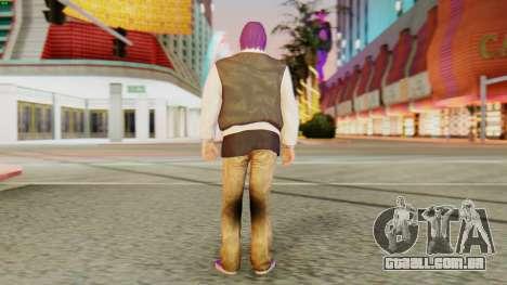 [GTA5] Ballas Member para GTA San Andreas terceira tela
