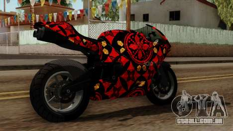 Bati Batik para GTA San Andreas esquerda vista